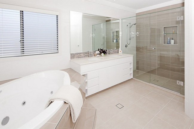 Gold Coast Unique Homes - Bowles  Bathroom Luxury homes with individual style.  #bathroom #ensuite #prestigehomes