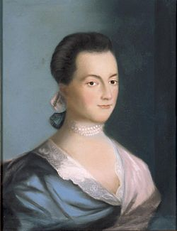 Abigail Smith Adams (1744 – 1818) - the wife of John Adams, who was the second President of the United States,