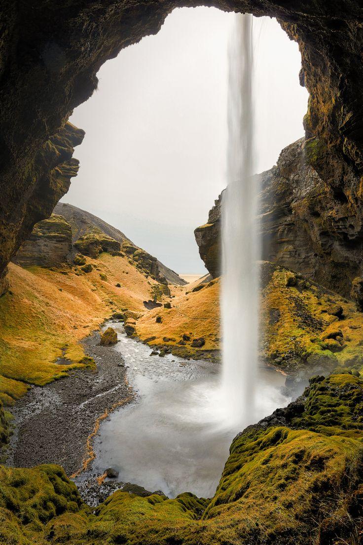 Kvernufoss, Iceland (South - near Dyrhólaey, Iceland)