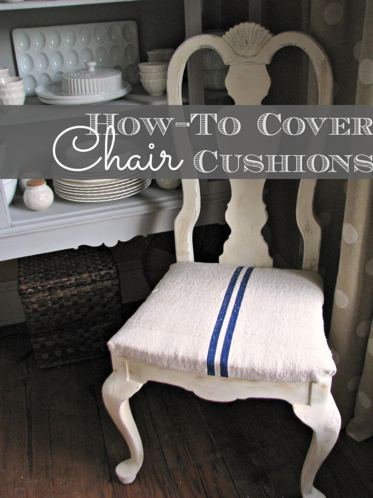 Best 25 Chair cushions ideas on Pinterest Dining chair  : ab4c06aa6bf46a53705d2aced467b45f dining room chair cushions dining chair covers from www.pinterest.com size 736 x 981 jpeg 100kB