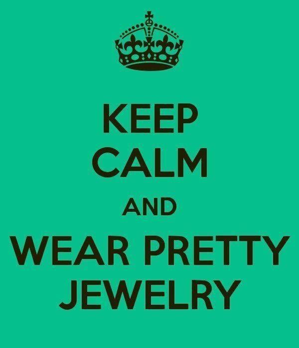 Pretty jewelry makes everything better ;) #keepcalm #jewelry #stelladot