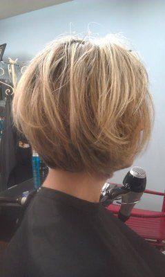 Layered Bob Hairstyles Back View | Tapered Bob, with layers. 2012'