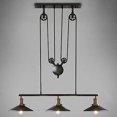 Pendant Light Downlight - Mini Style LED, Vintage, 110-120V 220-240V, Warm White, Bulb Included