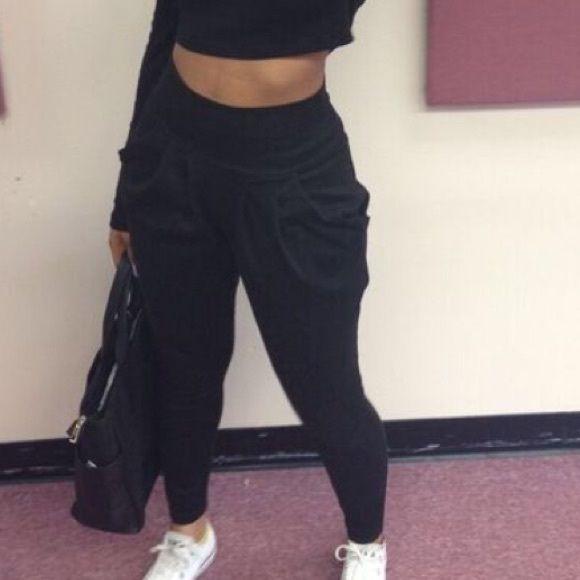 Black Harlem pants Size small Pants                                                                                                                                                      More
