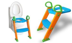 Groupon - Portable Potty Training Ladder Step Seat. Groupon deal price: $21.99