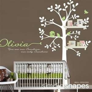 tree decal and baby room ideas