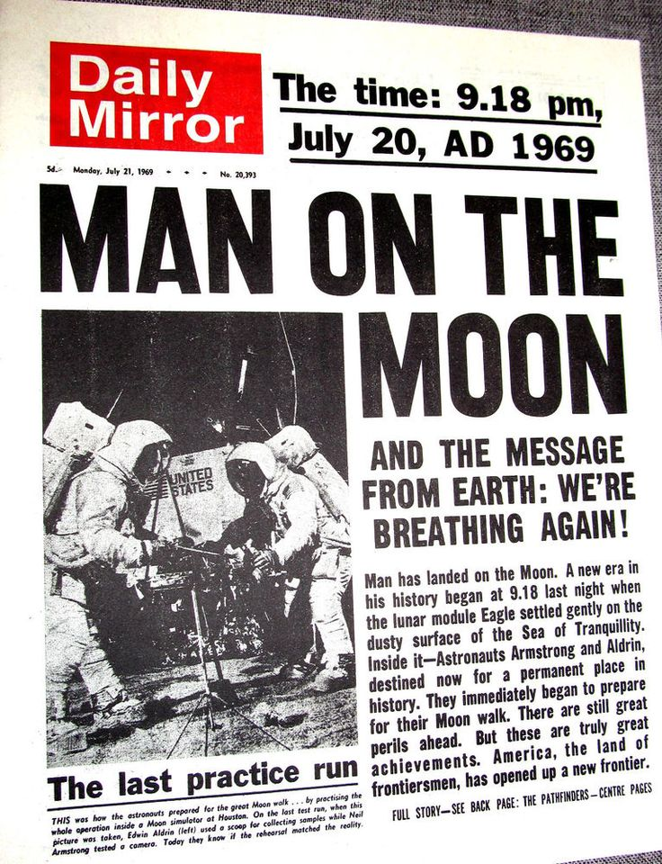 moon landing article - photo #21