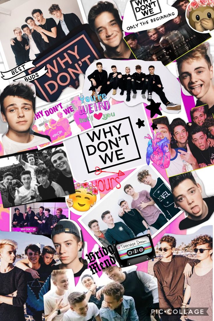Why don't we band wallpaper Why dont we band, Band