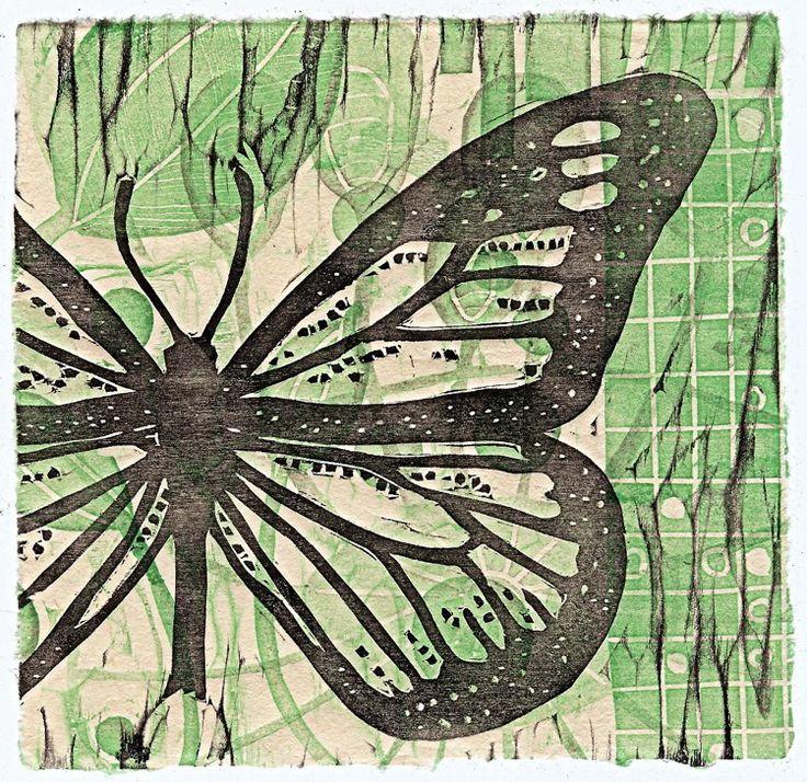 weirdbuglady: Dragonflies and butterflies...