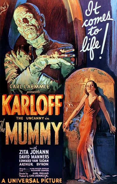 THe Mummy     Qué grande los clásicos del terror de la Universal!