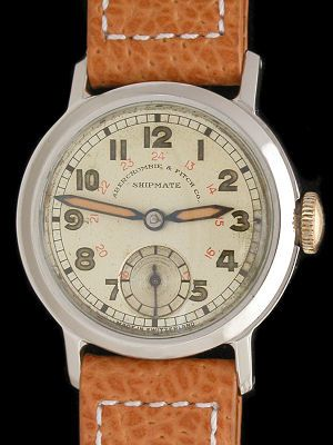 Vintage Abercrombie & Fitch 'Shipmate' Watch   |  Swiss-made ca. 1940