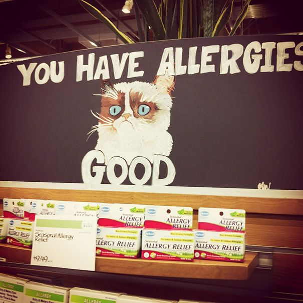 "My Itchy, Red Eyes And Runny Nose Say ""screw You Whole Foods!"""