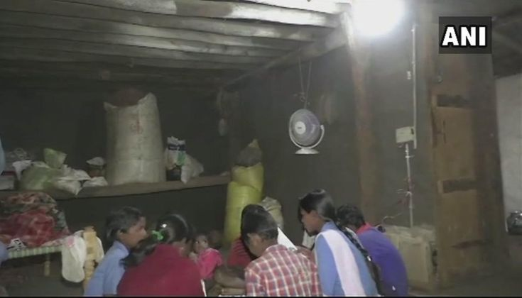 The residents of Chhattisgarh's Bhalupani village in Balrampur finally got electricity connection for the first time after the district administration installed solar panels for every family