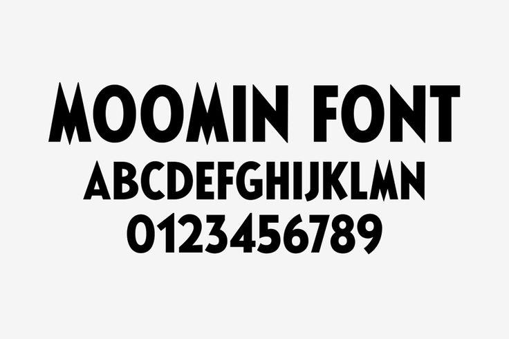 Moomin & Moomin Shop by Bond, 2015. Scope: #customtype #type #branding