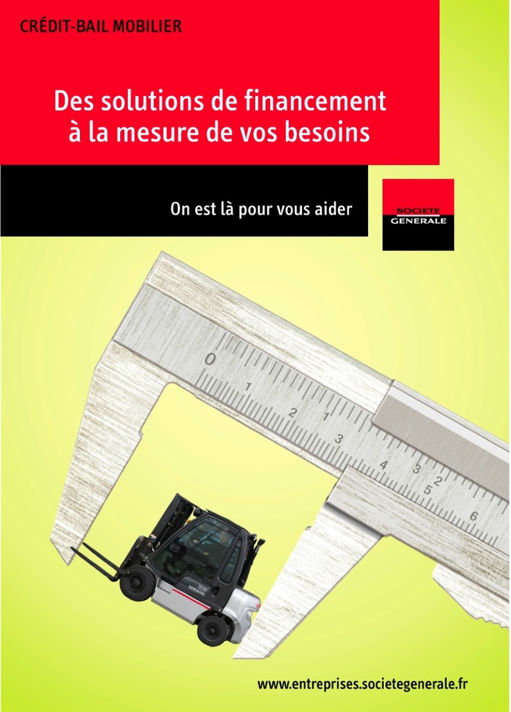 Mailing BtoB pour la Société Générale (axe retenu)