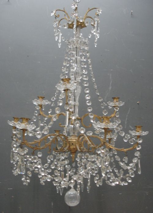 Antique French chandelier from www.jasperjacks.com
