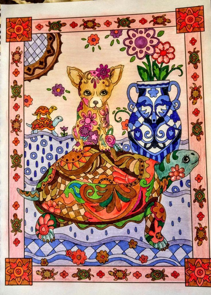 Joan Bosotina Colorest Adult ColoringColoring BooksColoring