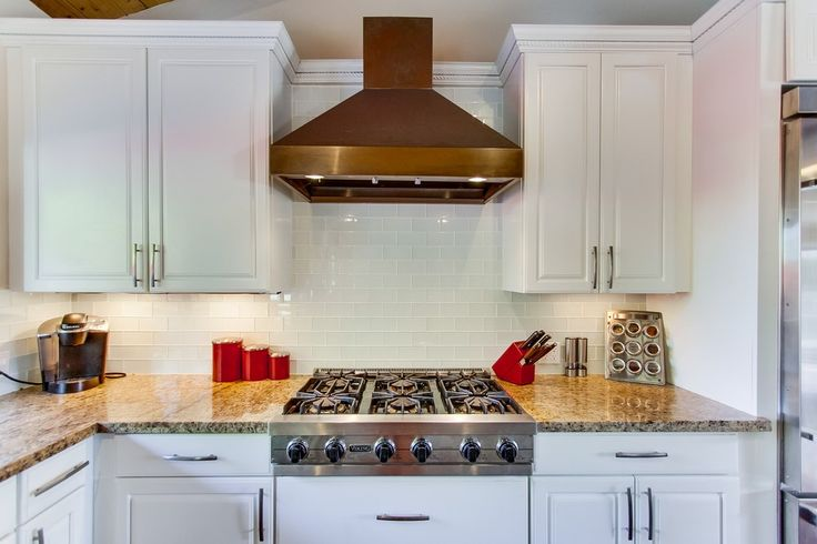kitchen backsplash ideas white glass subway tile backsplash with white cabinets and 2220