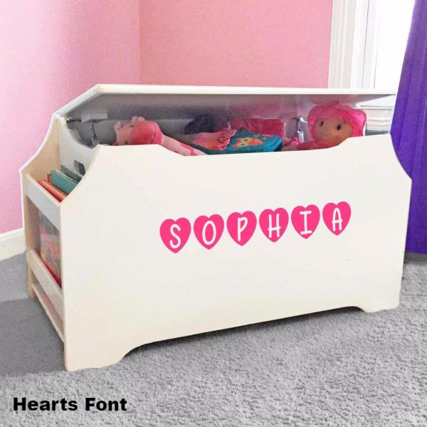 1000 Ideas About Kids Toy Boxes On Pinterest Toy Boxes