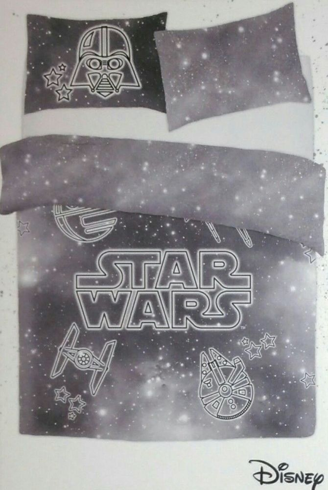 Star Wars Duvet Cover Disney Primark Single Double King The Last