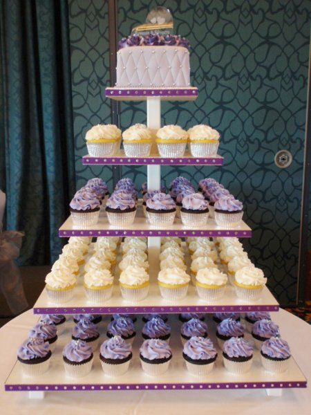 Wedding Cake, cupcakes cake