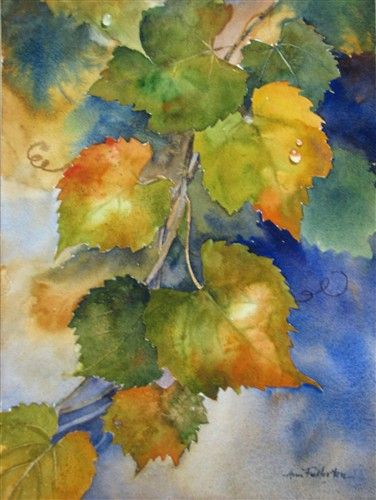 Ann Fullerton WATERCOLOR