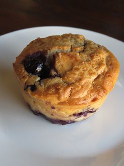 Try some delicious blueberry muffins today!