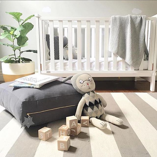 Loving this neutral nursery inspo! #boori #nurseryinspo #baby #babylove #babystyle #babyshop #babylife #babyvillagestore via @littleconnoisseur featuring Boori Daintree Cot