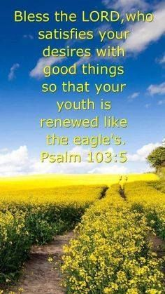 Read More About PSALM  103:5...