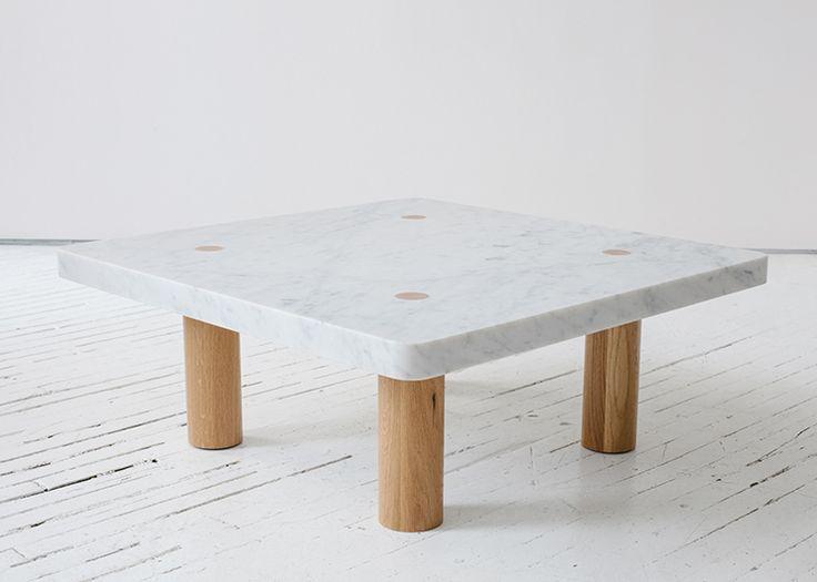 Fort Standard Stone Column Coffee Table