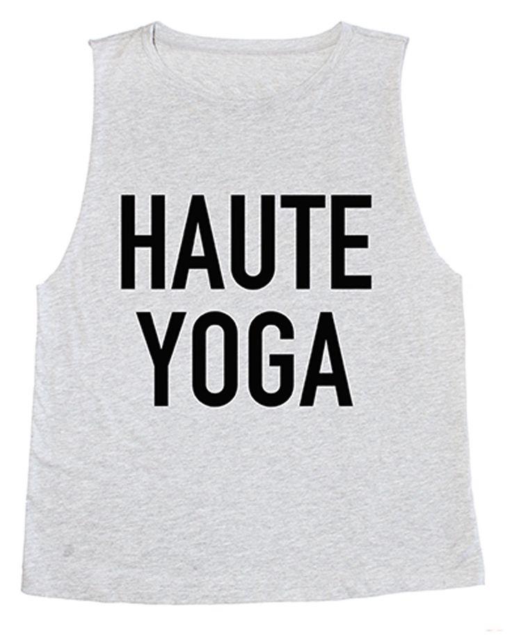 Haute Yoga Tank Top