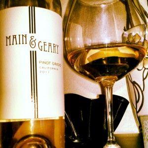 Week 16: Main & Geary Pinot Grigio - not a bad white wine