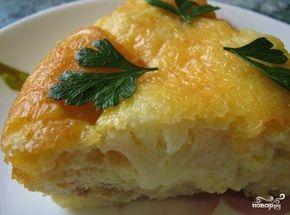 Запеканка из цветной капусты с яйцом - пошаговый рецепт с фото на Повар.ру