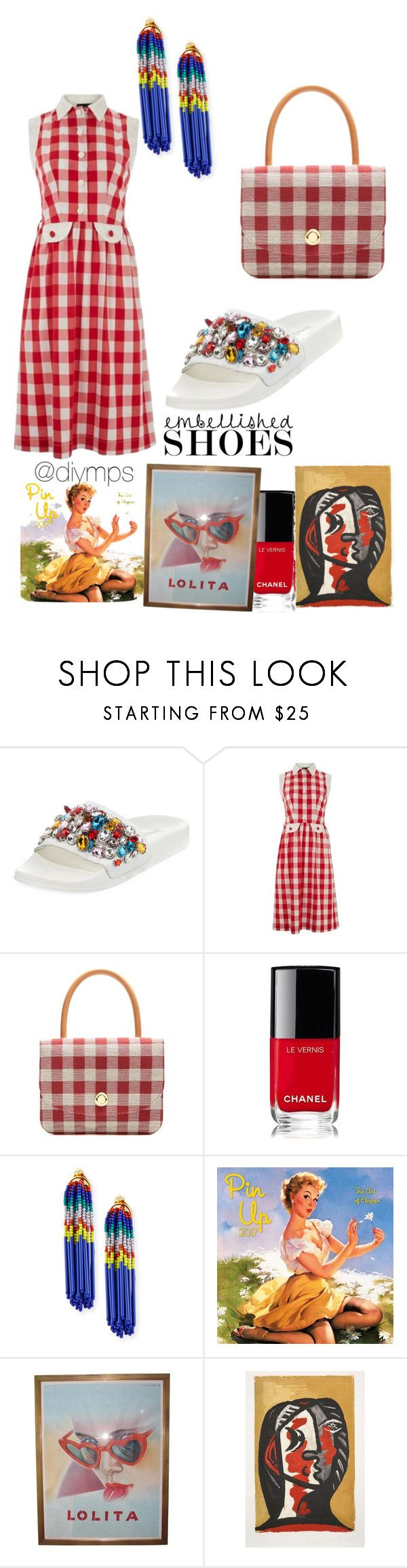 """""""😍"""" by diymps on Polyvore featuring Neiman Marcus, Lowie, Mansur Gavriel, Chanel and Lele Sadoughi"""