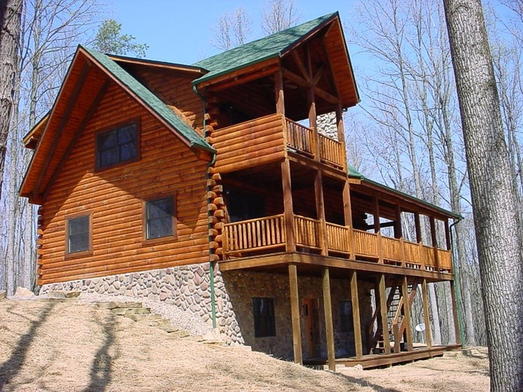 Hocking hills log cabin bella luna log cabin vacation for Log cabin portici e ponti