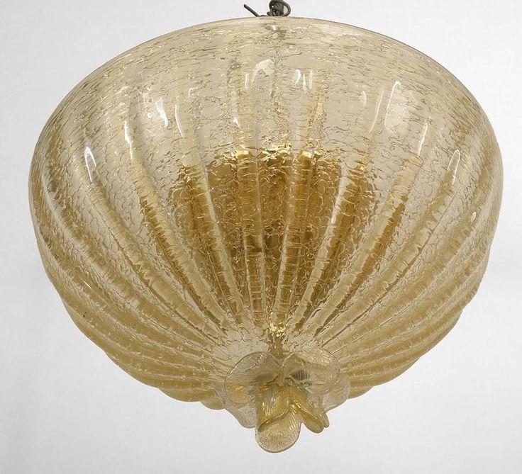 Art moderne1940s italian lighting chandelier glass italien moebel