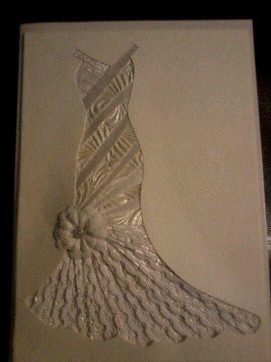 irish paper folding | Irish paper folding wedding gown | Iris Folding