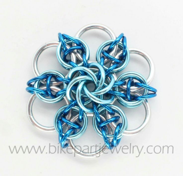 Vortex Celtic pendant lite blue flat and mobius same size