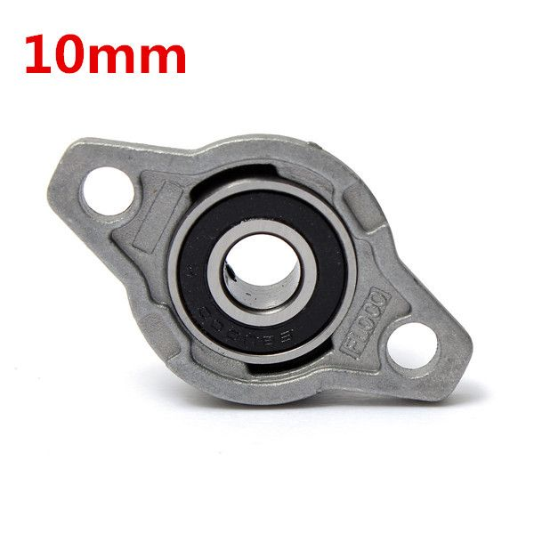 10mm Inner Diameter Zinc Alloy Pillow Block Flange Bearing KFL000