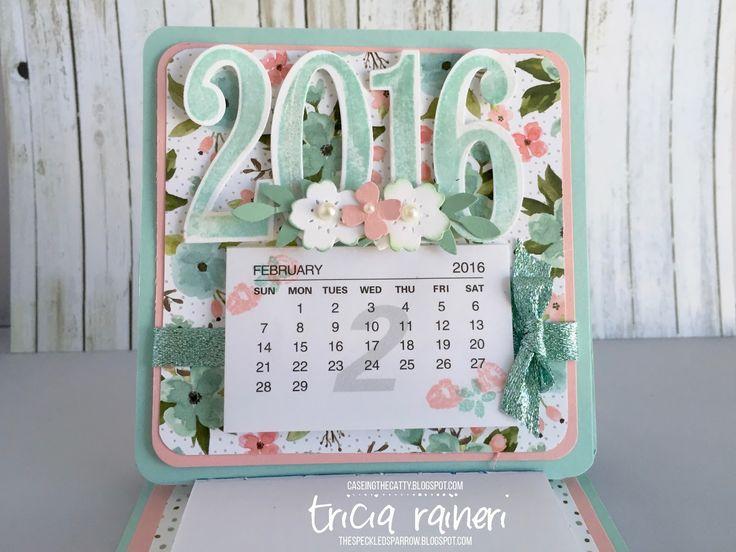 The Speckled Sparrow: CTC 67 Birthday Bouquet Calendar