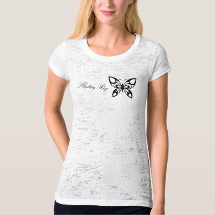 Simple Lovely Flutter By Butterfly Shirt - elegant gifts gift ideas custom presents