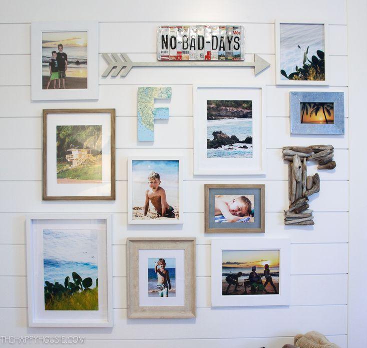 Beach Theme Gallery Wall with Free Printable Beach Photography – Shannon Ryan Nieb