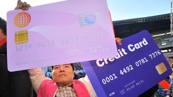 Quốc gia sử dụng thẻ tín dụng