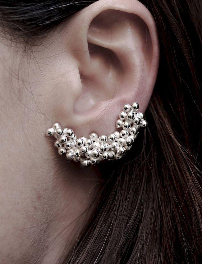 On aime quand les perles s'agglomèrent et fusionnent (photo Inês Nunes)