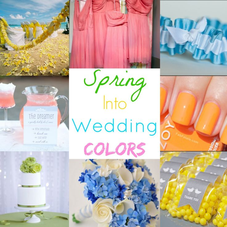 Primavera nei colori di nozze - Città di creativi sogni