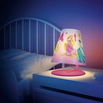 Dit lampje helpt haar 's nachts gerust te stellen en maakt verhaaltjes voor het slapengaan nog leuker. | Kinderlamp