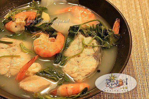 seafood sinigang filipino recipe