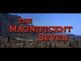 The magnificent seven 1960 movie title