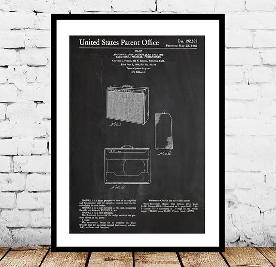 Fender 1962 Pro Amp, Guitar amp Patent Poster, Recording Studio, Fender Amp Print, Gift for dad, Home Decor, Teen decor, Gifts for him by STANLEYprintHOUSE  3.00 USD  We use only top quality archival inks and heavyweight matte fine art papers and high end printers to produce a stunning quality print that's made to last.  Any of these posters will make a great affordable gift, or tie any room together.  Please choose between different sizes and col ..  https://www.etsy.com/ca/listin..