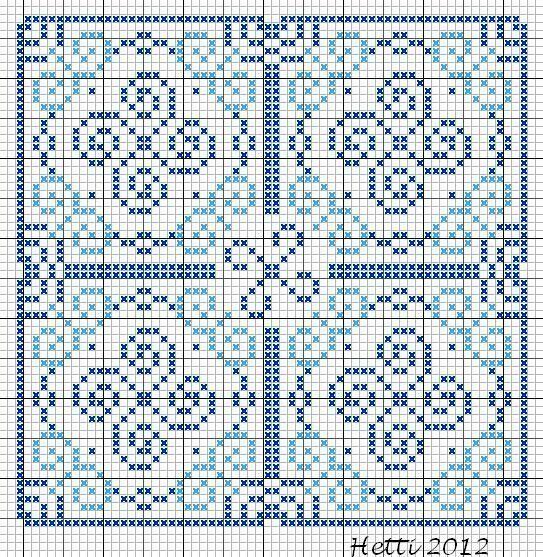 Creative Workshops from Hetti: SAL Delfts Blauwe Tegels, Deel 5 - SAL Delft Blue Tiles, Part 5.